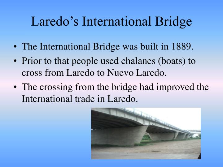 Laredo's International Bridge