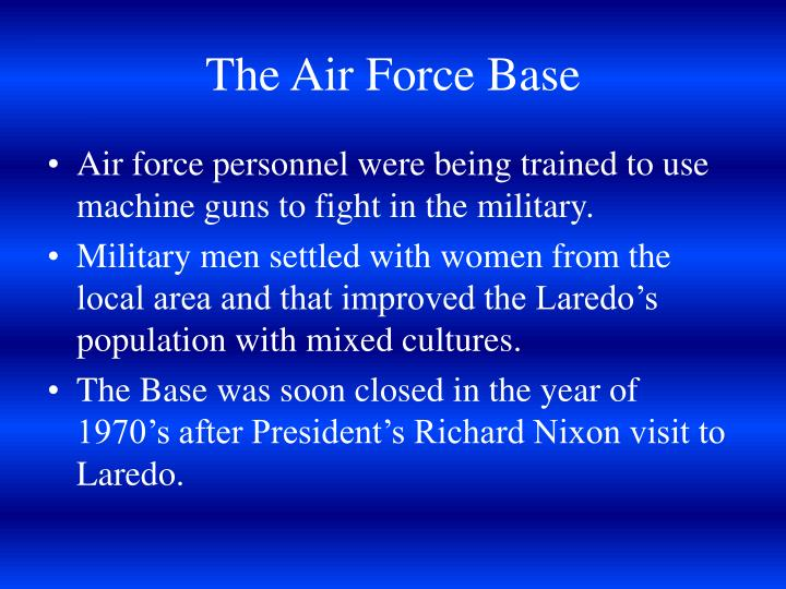 The Air Force Base