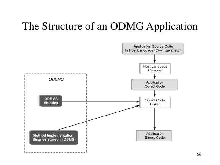 The Structure of an ODMG Application