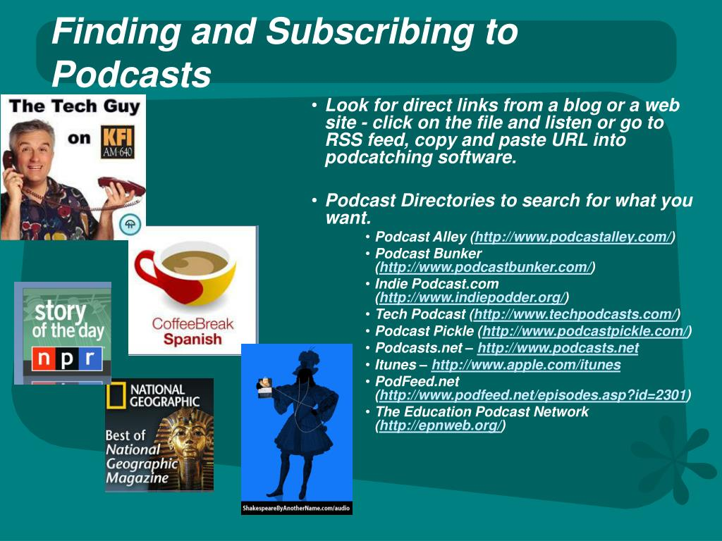 PPT - What Can You Do With a Podcast? PowerPoint Presentation - ID