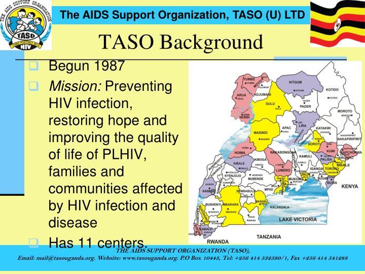 TASO Background