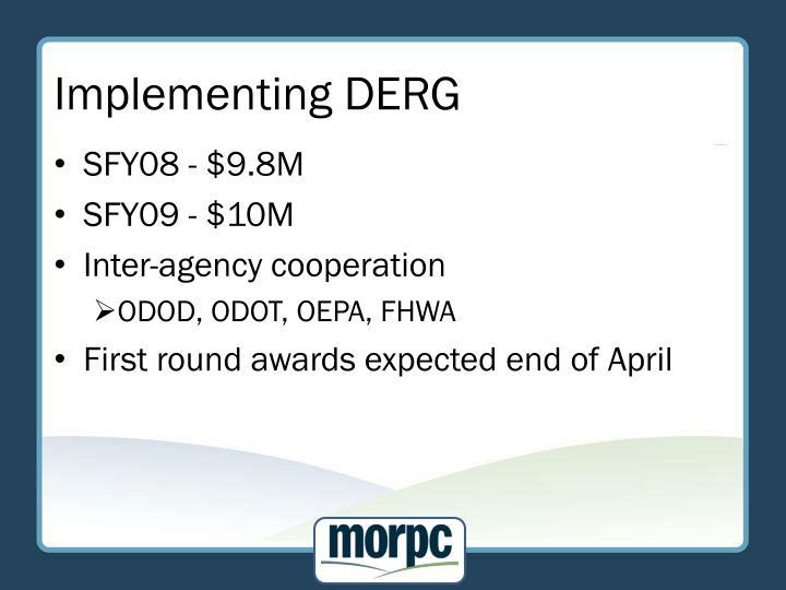 Implementing DERG