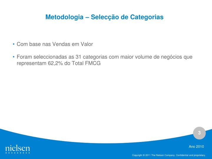 Metodologia selec o de categorias