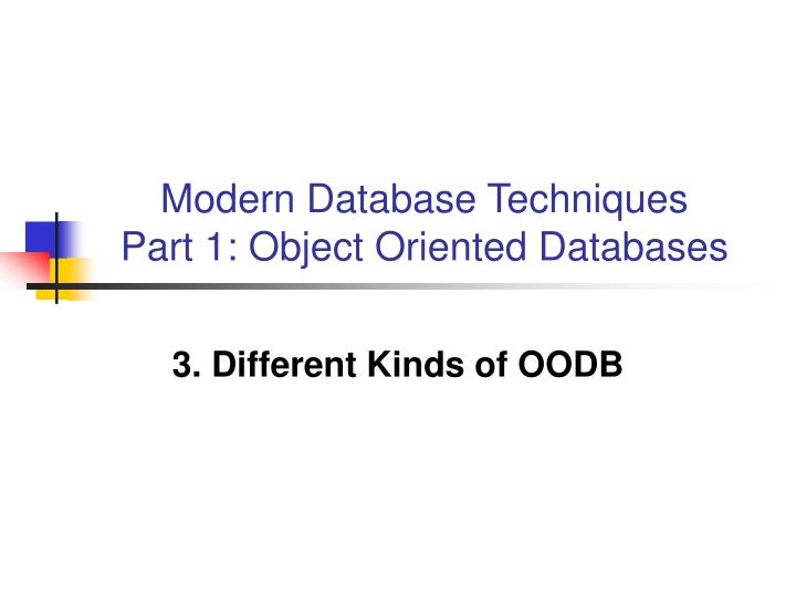 concepts of object oriented techniques with oo issues Matt weisfeld covers some advanced object-oriented concepts, such as constructors, operator overloading, multiple inheritance, error-handling techniques, and the importance of understanding how scope applies to object-oriented design this chapter is from the book chapter 1, introduction to.