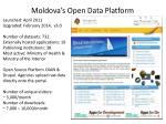 moldova s open data platform