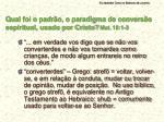 qual foi o padr o o paradigma de convers o espiritual usado por cristo mat 18 1 3