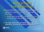 active directory trust relationships