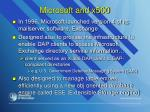 microsoft and x500
