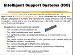 intelligent support systems iss