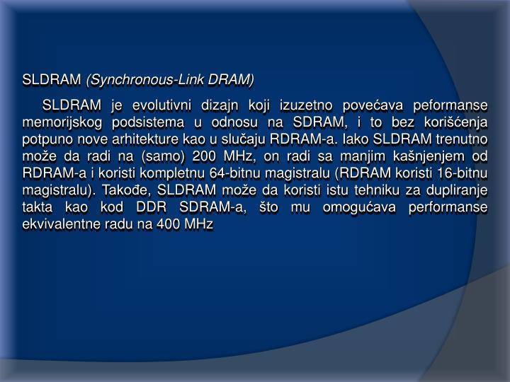 SLDRAM