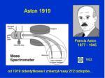 aston 1919