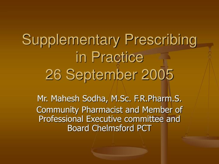 independant supplementary prescribing Statement of awareness in the differences in child and adult prescribing 'only nurses with relevant knowledge, competence, skills and experience in nursing children should prescribe for children this is particularly important in primary care (eg out of hours, walk-in clinics and general.