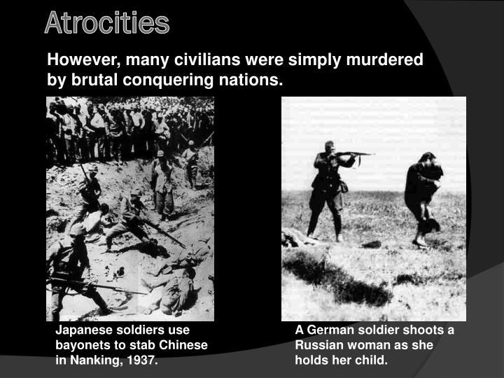 Atrocities