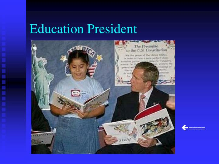 Education President
