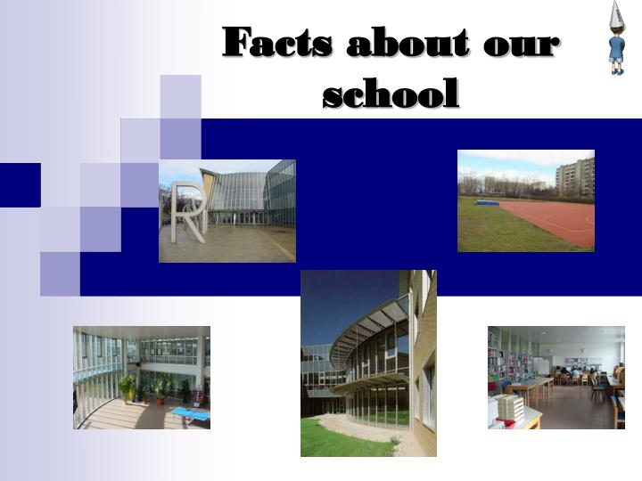 Facts about our school