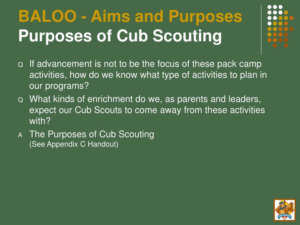 PPT - BALOO Training PowerPoint Presentation - ID:4491121