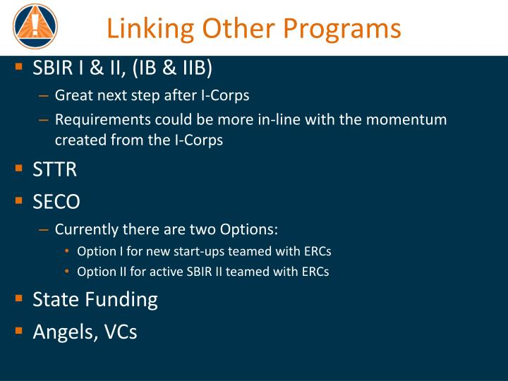 Linking Other Programs