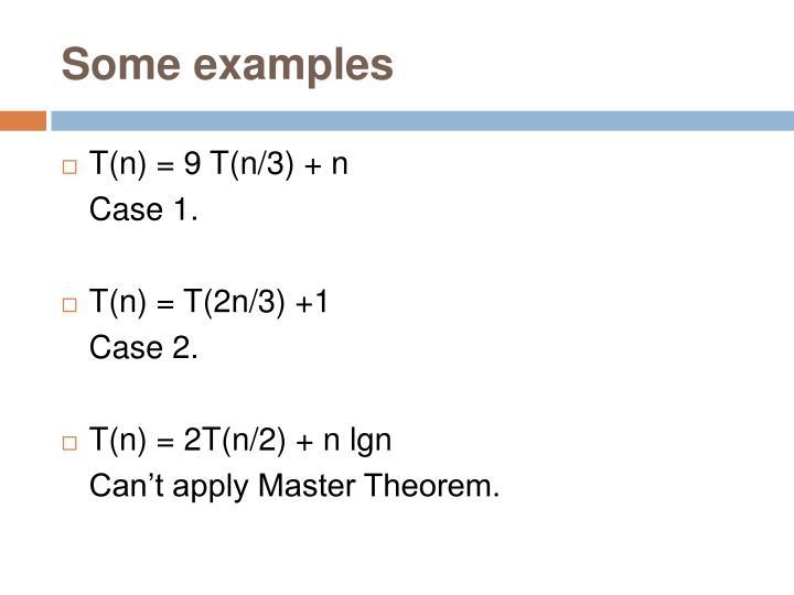 Ppt Master Theorem Powerpoint Presentation Id4491319