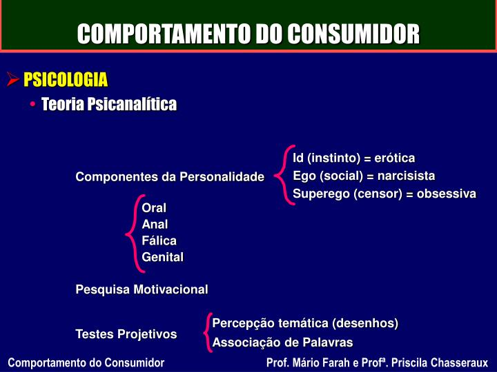 Comportamento do consumidor2