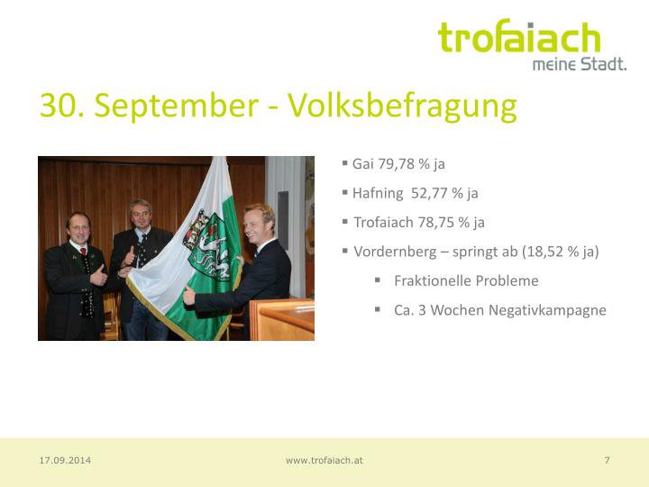 30. September - Volksbefragung