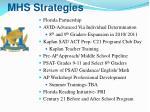 mhs strategies