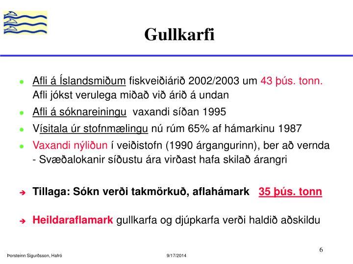 Gullkarfi