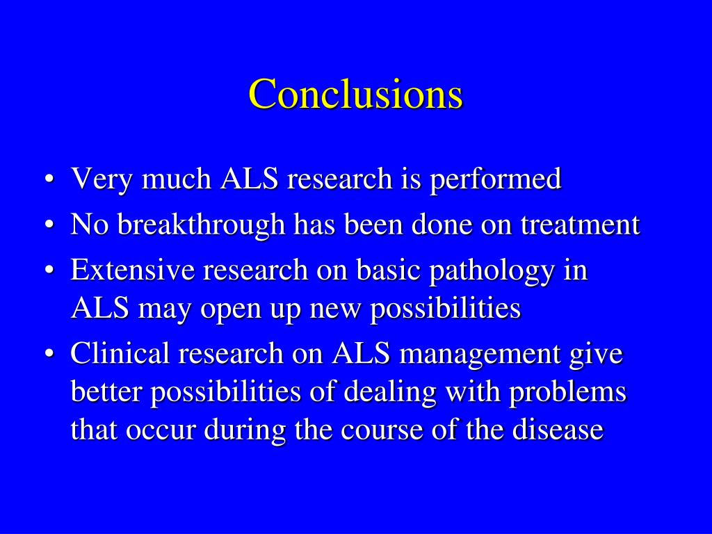PPT - Update on ALS research PowerPoint Presentation - ID:4492026