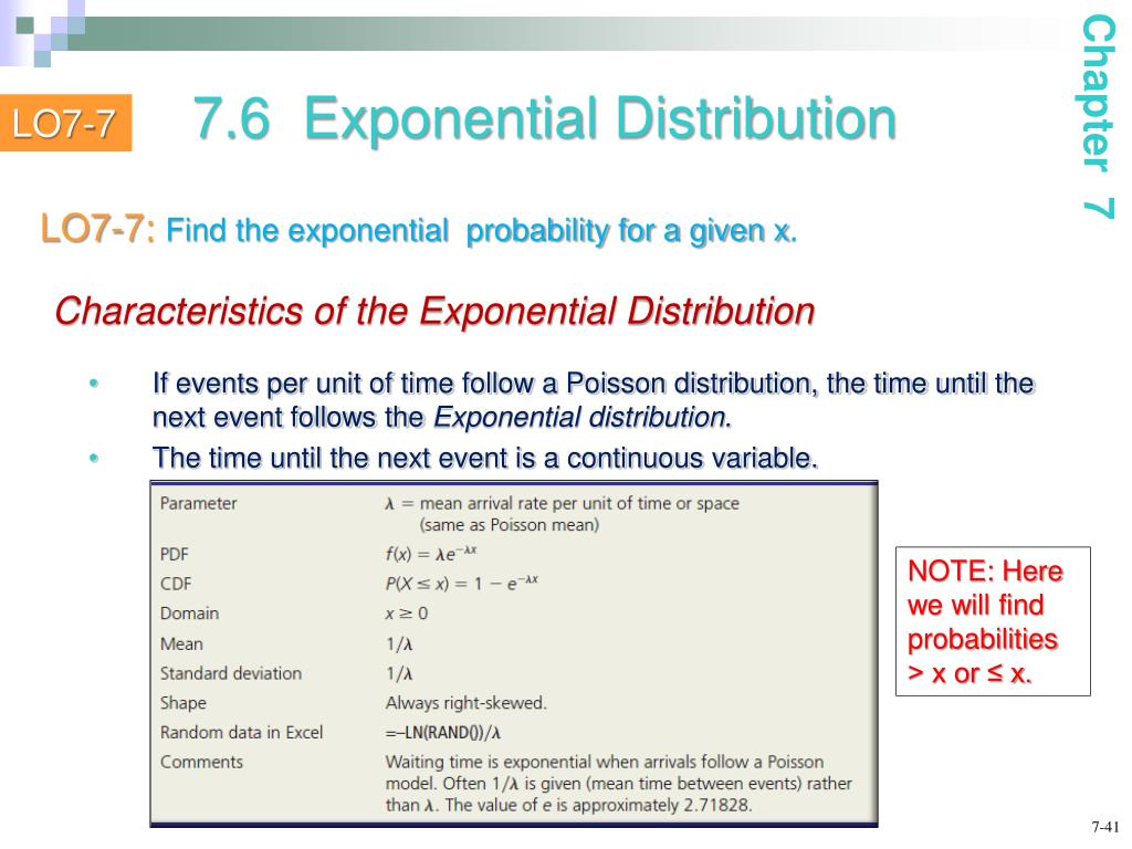 PPT - Continuous Probability Distributions PowerPoint
