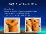 au 111 on octanethiol1