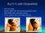 au 111 with octanethiol3
