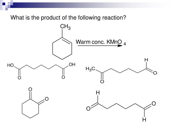 What is the product of the following reaction?