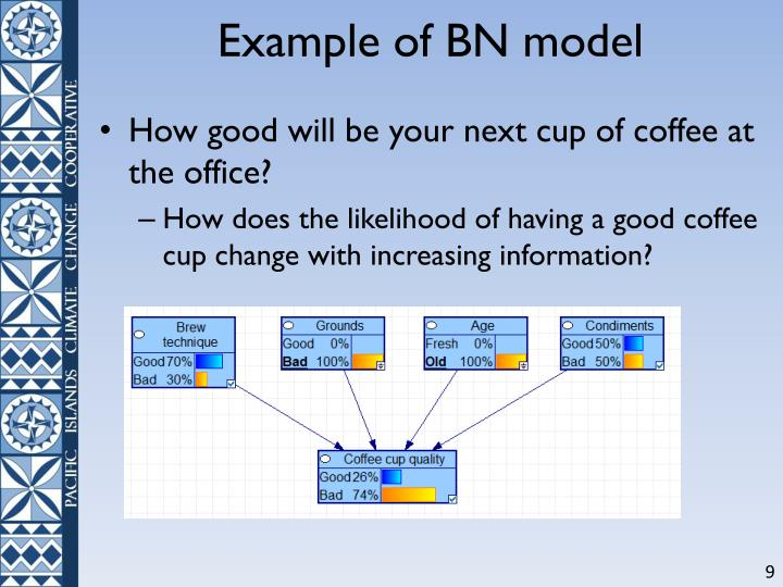Example of BN model