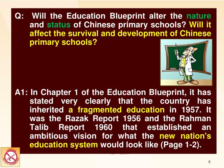 Ppt the impact of the malaysia education blueprint 2013 2025 q will the education blueprint alter the nature and status of malvernweather Images