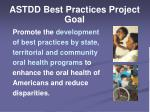 astdd best practices project goal