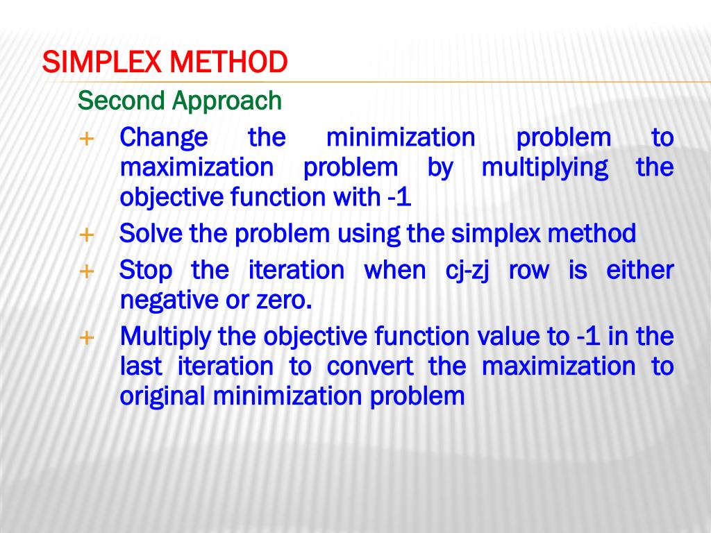PPT - Chapter 5: Linear Programming: The Simplex Method