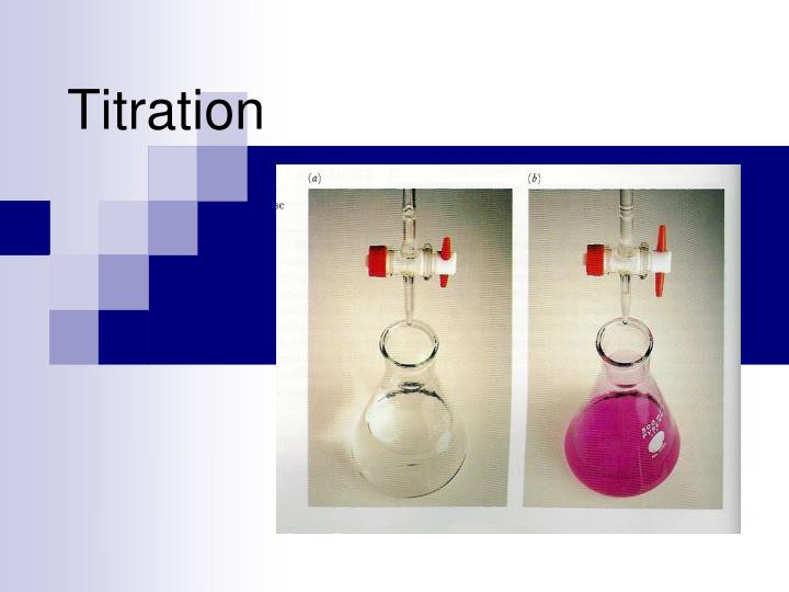 vc titration Extracts from this document introduction title: determination the amount of ascorbic acid(vitamin c) objective: to determine the vitamin c content in a given commercial effervescent vitamin c tablets by the reaction between ascorbic acid and bromine, then follow by the addition of potassium iodate to the solution and the back titration.