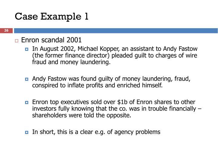 Enron scandal 2001