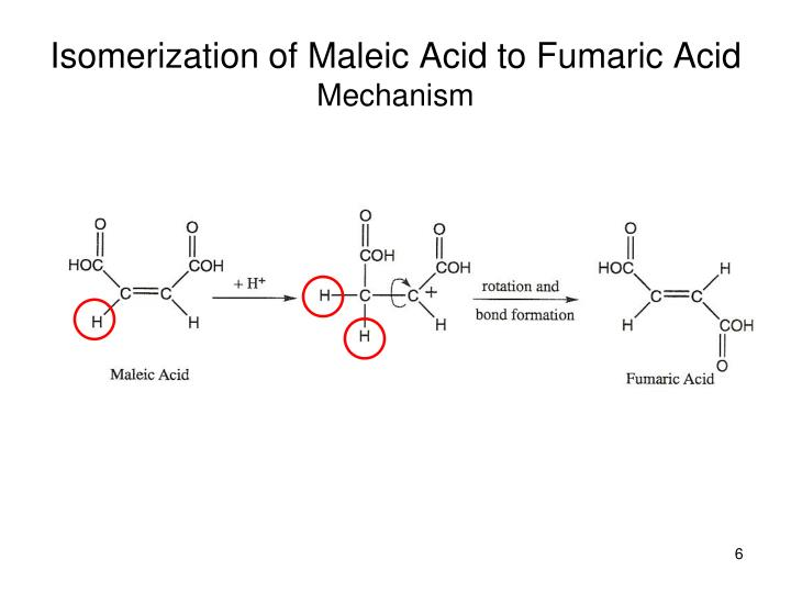 the gallery for gt maleic acid to fumaric acid