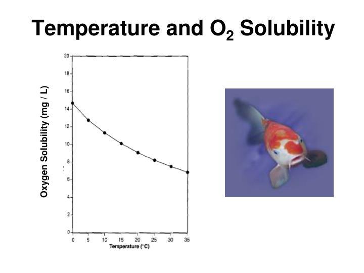 Temperature and O