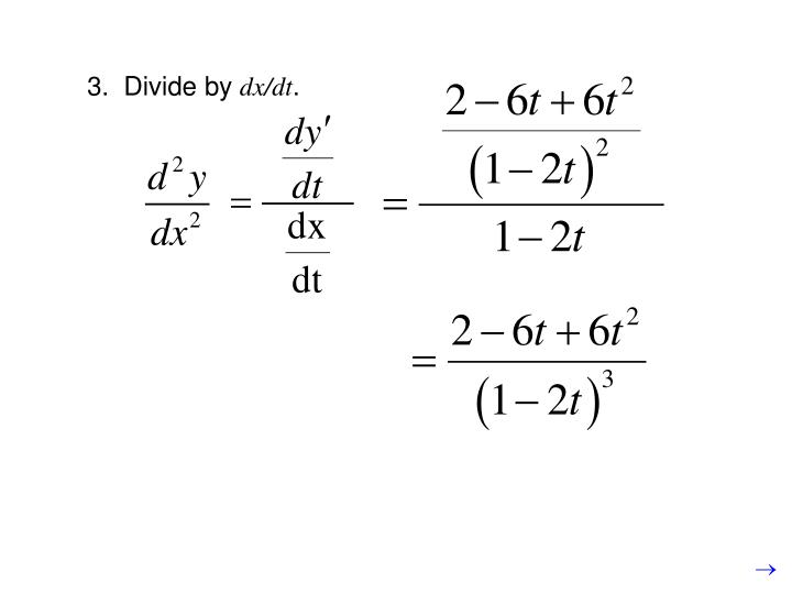 3.  Divide by