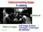 interconnecting loops a catalog