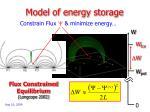 model of energy storage1