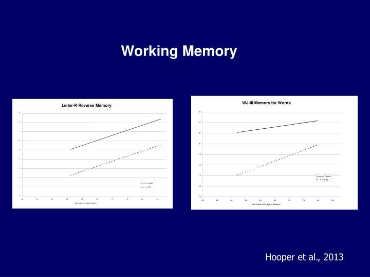 Leiter-R Reverse Memory