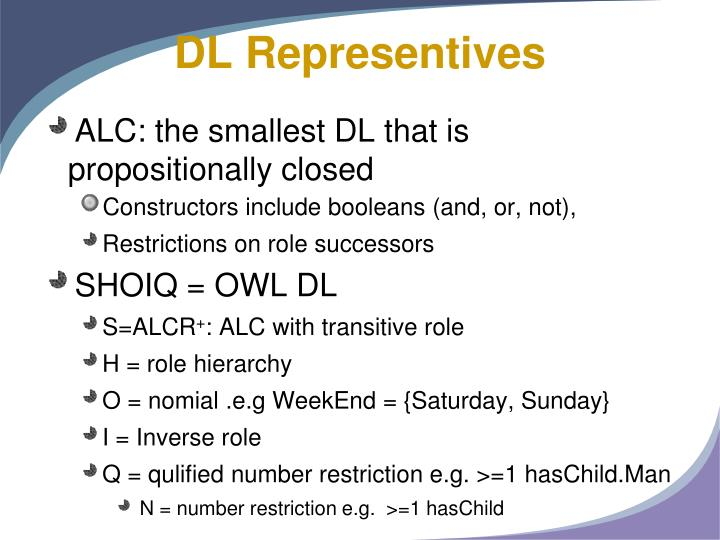 DL Representives