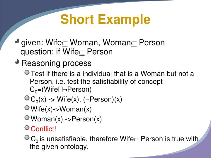 Short Example
