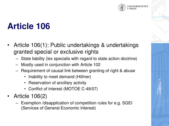 Article 106