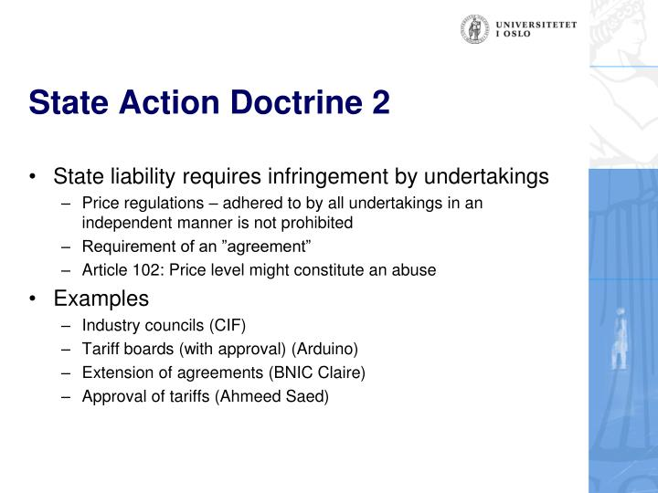 State Action Doctrine 2