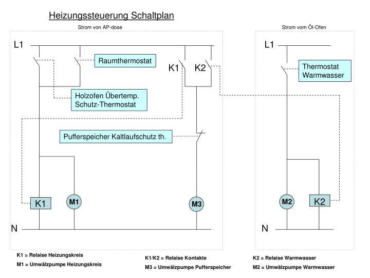 Fantastisch Schaltplan Des Raumthermostats Zeitgenössisch - Die ...