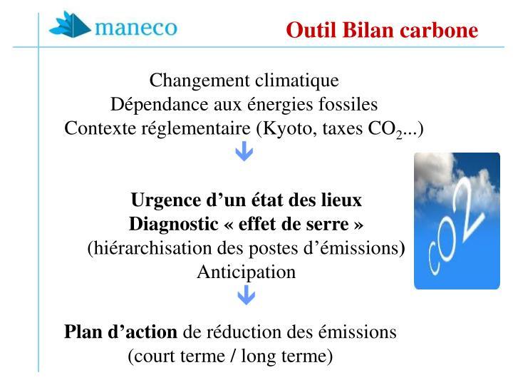 Outil Bilan carbone