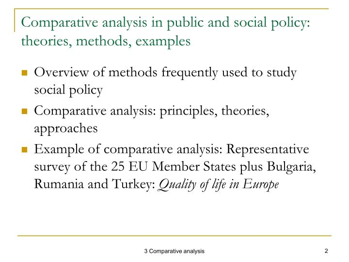 examples of social policy